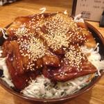 34039224 - 2015.1.7  バラ丼肉大盛り☆