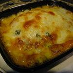 瑛舎夢 - 「ムサカ」オリジンのナスを使ったギリシャ料理 熱々のチーズと一緒にお召し上がりください