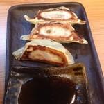 Tsurukamedou - 餃子3ヶ130円