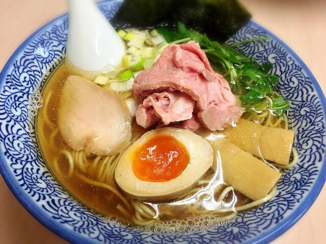 中華そば よしかわ - 煮干しそば白醤油 780円