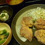 34041446 - 若鶏の唐揚定食 税込800円