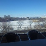 六花亭 - 二階喫茶室は良い眺め