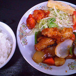 中華レストラン北海 - 料理写真:酢豚定食
