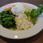 フォルクス - 料理写真:2015.01 Aセットで食べ放題のサラダバー