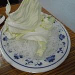 長白小館 - 最初に付いてくる野菜