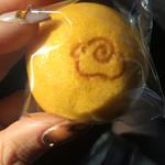わかつき - かぼちゃまんじゅう(¥100)