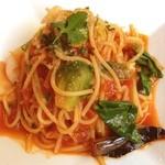 イタリアントマトクラブ - いろいろ野菜のトマトパスタ