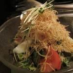 竹とんぼ - バリバリサラダ2014/12