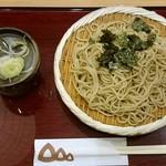 花旬庵 - ざる 638円