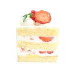 川東菓子店 - ショートケーキの断面 '15 1月上旬