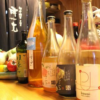 【ドリンクが安い】多彩な果実酒から日本酒!品揃え豊かなお酒