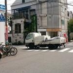 酔鯨亭 - 新鮮な海鮮を運んできたトラック
