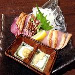 よかんべ - 鶏のたたき盛り合わせ ¥650