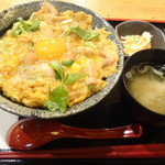軍鶏一 池袋店 - 親子丼(ランチメニュー)