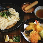 草庵 - 料理写真:天ザル