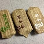 34062518 - 白外郎・黒外郎・抹茶外郎の3種類