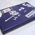 四里餅商事 大里屋 - 四里餅のパッケージですw 飯能名物なんですね(^^@