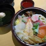 34063485 - ちらし寿司+お吸い物 1000円