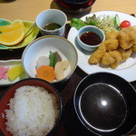 34063490 - 熊野地鶏のカツ定食 1200円