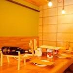 ワインの酒場。ディプント - トナカイがお出迎えします