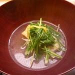 味 ふくしま - ぐじと水菜と厚揚げの鍋仕立て