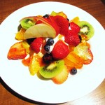 果実園 リーベル - 今月のフルーツパフェ