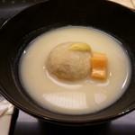 味 ふくしま - 海老芋は揚げていて香ばしいです
