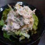 龍龍 - ポテトサラダ!うん美味かった!