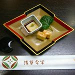 浅草今半 - 前菜・2014/12