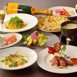 魚介・野菜・タパスを中心としたスパニッシュイタリアン料理