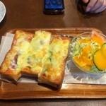 越 - ピザトースト