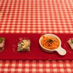 ブション・ドール - 前菜4種