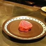 ステーキ  いぐち - ランチの和牛フィレ肉(2人前:200g)