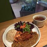 リマカフェ - たかきびと冬野菜のカレー (スープ付き・ごはんのチョイス可)