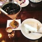 石打 邪宗門 - チーズケーキとアイスコーヒーのセット(780円)