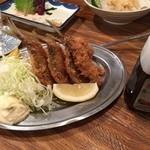魚屋はちまき - アジフライ