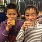 フレンチ屋台総州 - にやける同級生いとこの息子たち(^^)