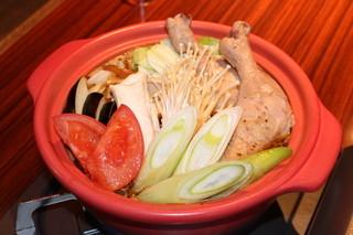 べいらっきょ - 当店自慢の秘伝のスープカレーを鍋に!一人前1,680円(2人前からのご注文になります)15:00~ラスト