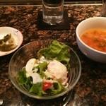 34075016 - 15.01.08 香の物・サラダ・スープ