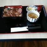 仙台なとり - 料理写真:牛たん重(ご飯大盛り無料) 1080円