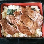 仙台なとり - 牛たん重(ご飯大盛)
