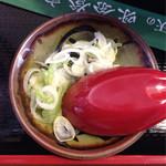 味奈登庵 - カレー南蛮に付いてます。