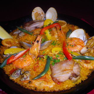 スペイン料理が自慢です。