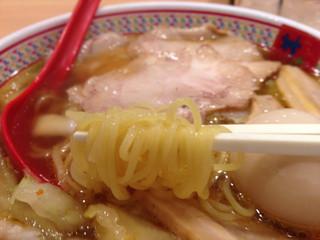 どうとんぼり神座 天王寺MIOプラザ店 - 麺リフトアップ
