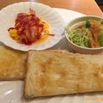 ケーブランチ - (料理アップ)モーニング¥450