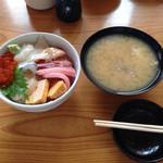緑鮨 - 海鮮丼 大盛り 千円