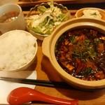 34079268 - やみつき麻婆豆腐定食