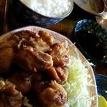 コタン - 唐揚げ定食
