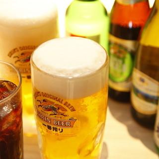 いつでも!何杯でも!生ビール1杯199円(税込)♪