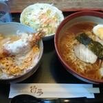 待夢 - 週替りラーメンセット 980円